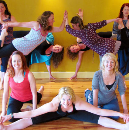 Healthy Yoga and Massage Hen Parties